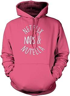 Netflix Naps and Nutella Fashion Tumblr Unisex Hoodie