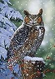 Wentworth Silent Watch Wooden 500 Piece Jigsaw Puzzle, Owl