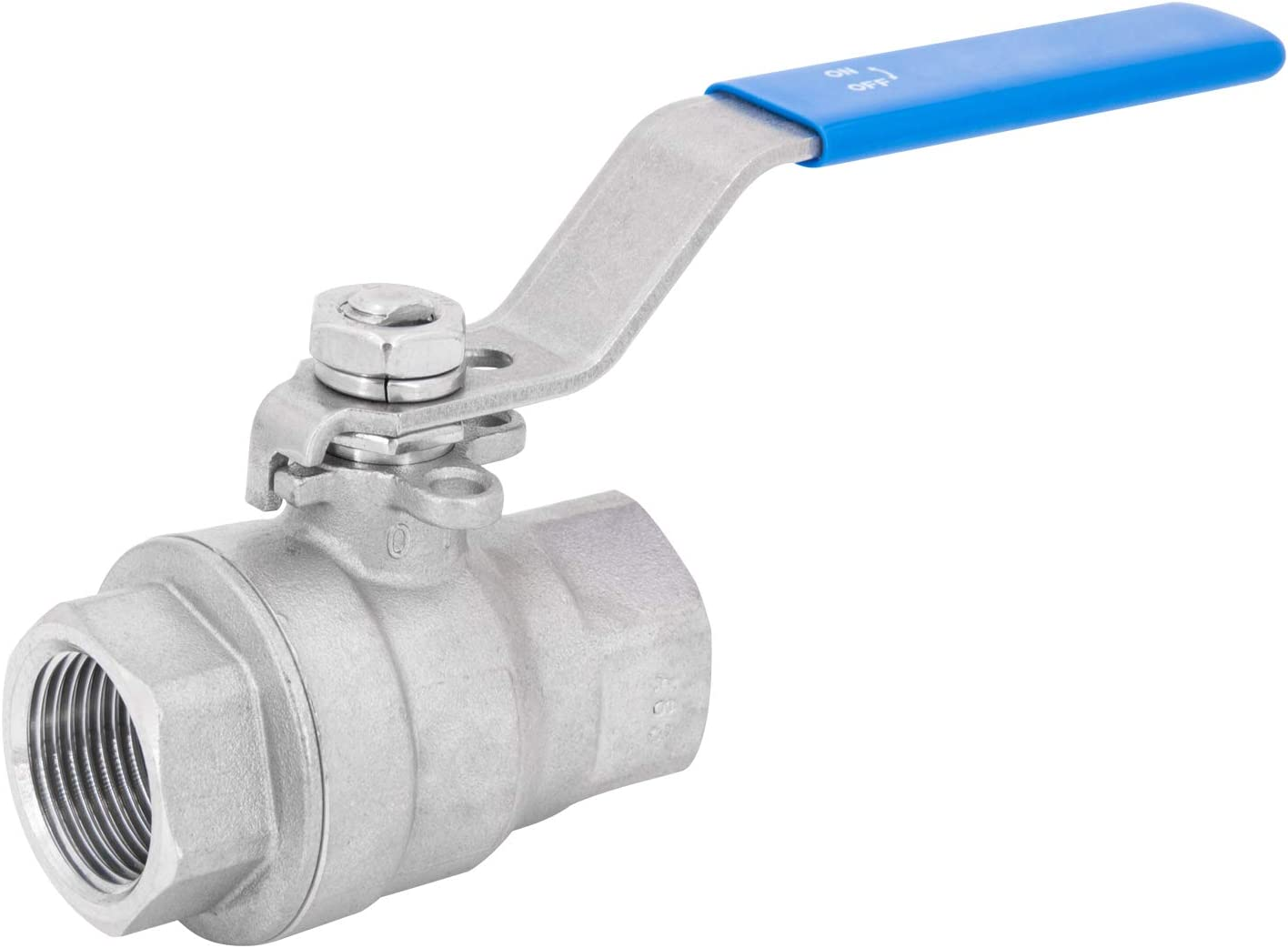 """1//4/"""" 1//2/"""" 3//4/"""" 1/"""" BSP Lever 304 Stainless Steel Ball Valve F to Female"""