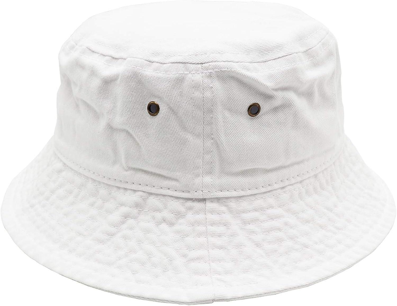 Umeepar Unisex 100/% Cotton Bucket Hat Retro Packable Sun hat for Men Women