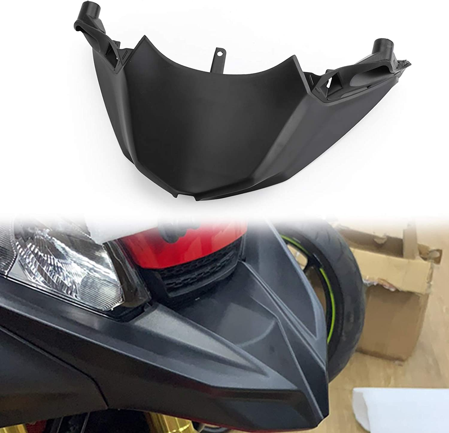 Moto Plastic Front Fender Beak Nose Extension for H-O-N-D-A X-ADV 750 2017 2018 2019 Artudatech Motorcycle Front Fender Beak Extension