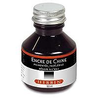 Herbin Encre de chine en 50 ml Noir