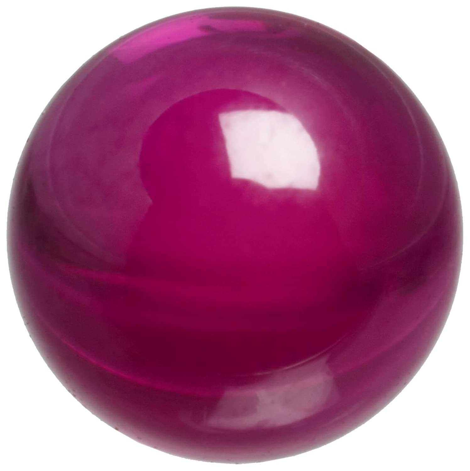 Synthetic Ruby Sphere, Grade 25, 0.1875' Diameter (Pack of 1) 0.1875 Diameter (Pack of 1) Small Parts