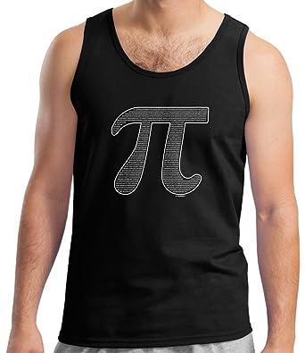 Amazon Thiswear Math Teacher Gifts Pi Filled Pi Symbol Tank Top