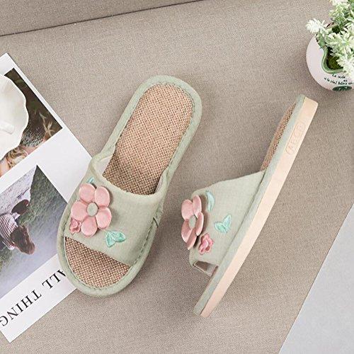 Sole Épaisse Chaussons Sandales A Orteils 37 38 Casual Chaussures B Mousse Ouverts À Mémoire SHANGXIAN Famille wzvqX