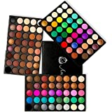 Eyeshadow Palette, Ambito Professional Makeup 120 Colours Cosmetics Set 2017 New Eye Shadow Makeup Palette includes Matte and Shimmer Eye Shadows