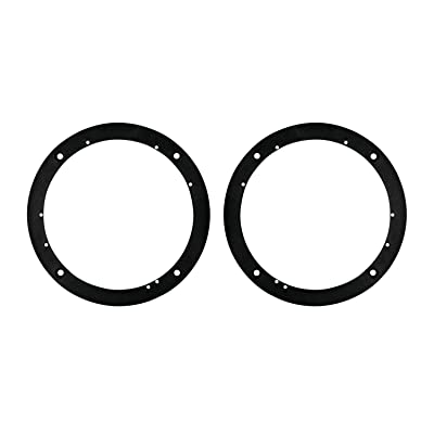 Metra 82-4400 Universal 1/2-Inch Plastic Spacer Rings for 6-1/2-Inch Speakers: Car Electronics