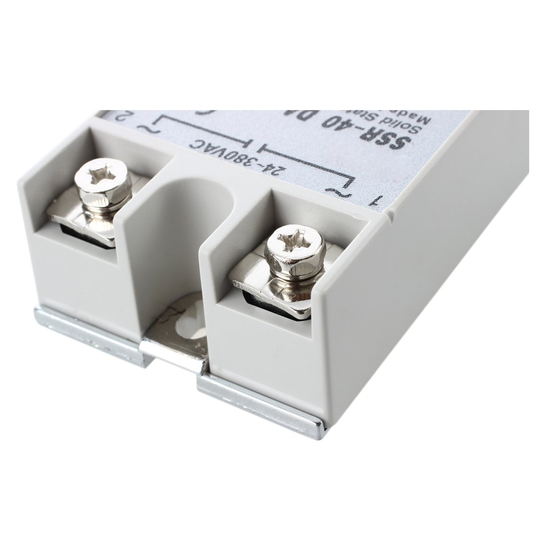 Ssr 40da Solid State Relay 3 32v Dc 24 380v Ac 40a Sodial Se There Are Relays And