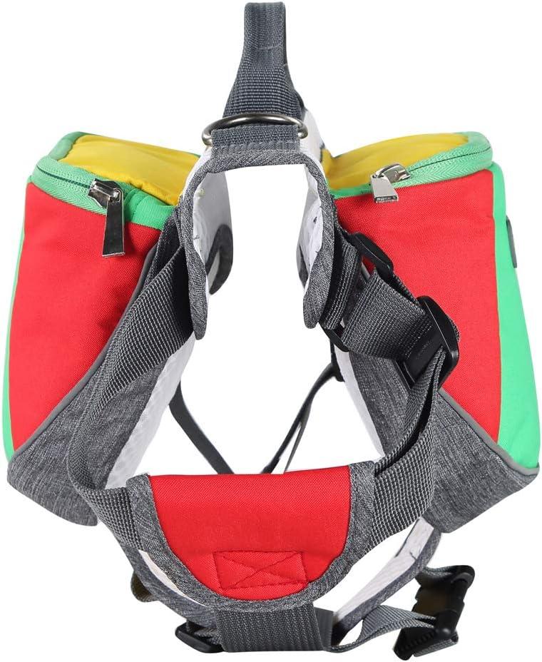 Hound Travel Saddle Bag Packs Hiking Walking Camping for Small /& Medium /& Large /& Extra Large Dogs Wellver Adjustable Dog Saddle Bag Backpack