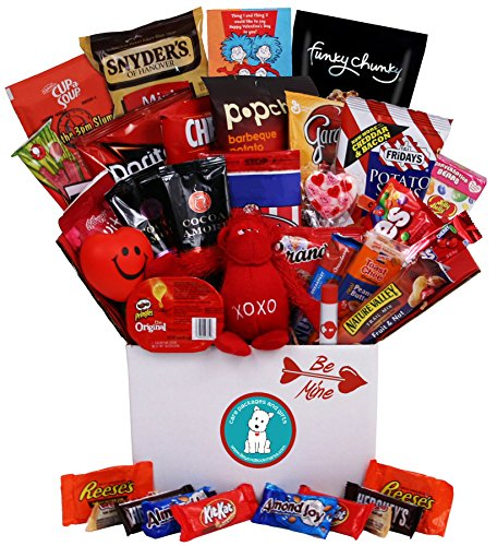 Be Mine Valentine's Day Care Package - Great for College Students, Military Troops or to Wish Anyone a Happy Valentine's Day