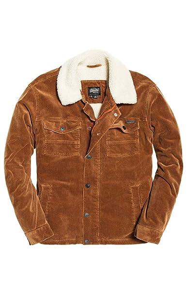 Superdry Hacienda Chore Coat, Abrigo para Hombre: Amazon.es: Ropa y accesorios