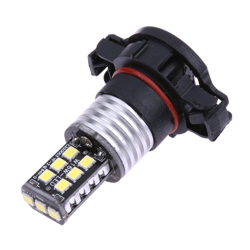 Starnearby 1Pc Hot New White H16 2835 SMD 15 LED Car Light Fog Lamp Bulb DC 12V