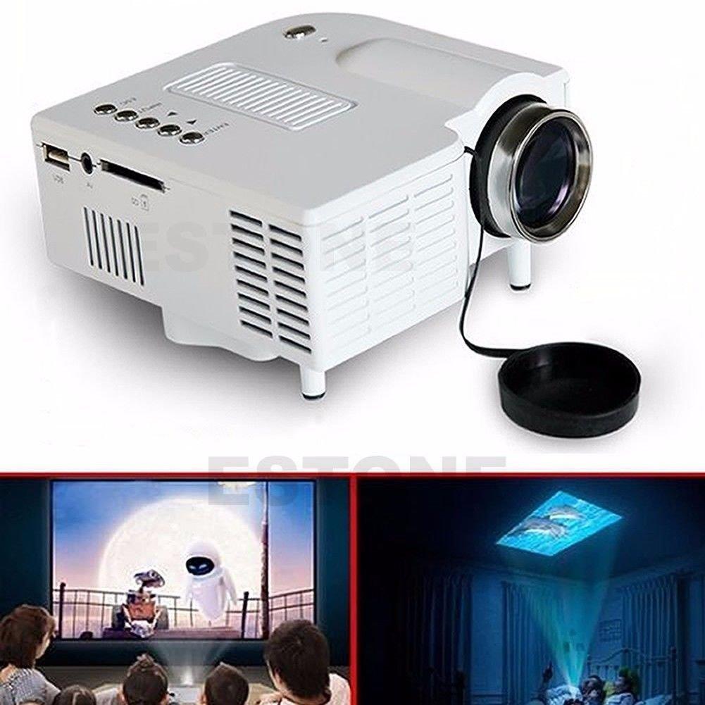 FidgetFidget LED Projector SALE 1080P HD Home Cinema Theater Multimedia PC AV TV USB VGA HDMI