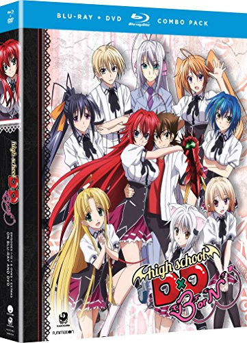 High School Dxd Born: Season Three [Blu-Ray + DVD] (Highschool Dxd Best Scene)