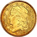 1830 P $2.50 Early Gold (1796-1839) Two and a half Dollar MS66 PCGS\CAC