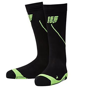 CEP Progressive+ Night Run Socks 2.0  Mens Running Accessories Flash Green/Black D22q8522 Outlet Onl