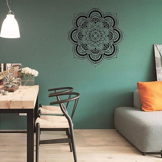 YWLINK Hermosa Mandala Flor Dormitorio Indio Arte De La Pared ...