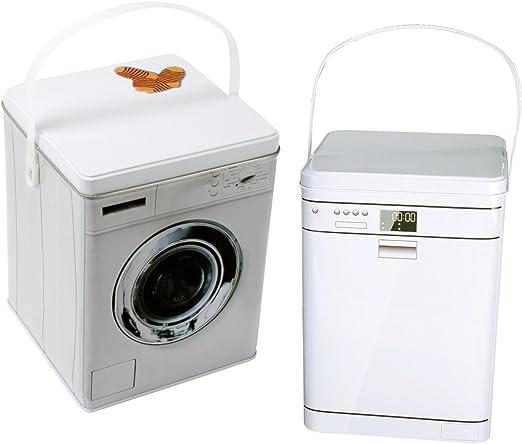 Caja de metal Detergente – Caja con tapa para guardar Detergente ...