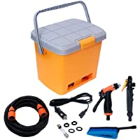 Stvin ABS Portable Pressure Car Washer Machine Spray Gun,16 L,Orange