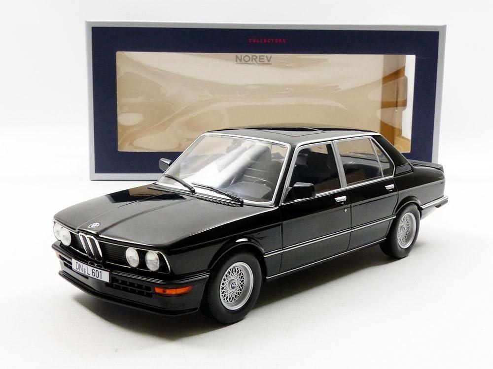 NOREV 1:18 1980 BMW M 535i DIE-CAST BLACK 183264