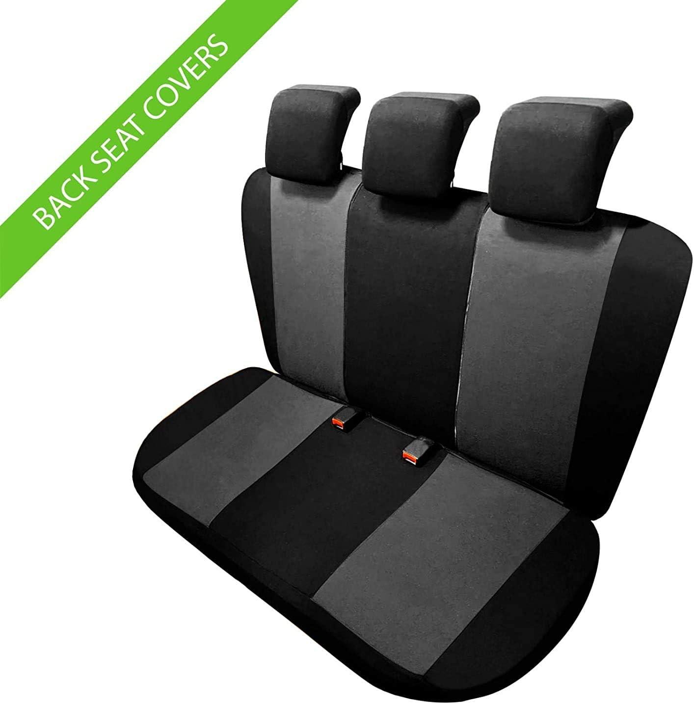 2016-in Poi Colore Nero Grigio rmg-distribuzione 1801 Coprisedili per Seat ATECA compatibili con Modelli
