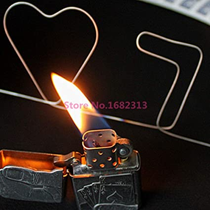 Nitinol Shape Metal Memory Wire Fire Prediction number of Diamond magic trick Eb