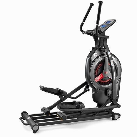 Bh Fitness Icross3000 G880i Bicicletta Ellittica Con Freno Misto Aria E Magnetico Dual Kit Integrato Falcata Da 53 Cm Luragano Nero Delle