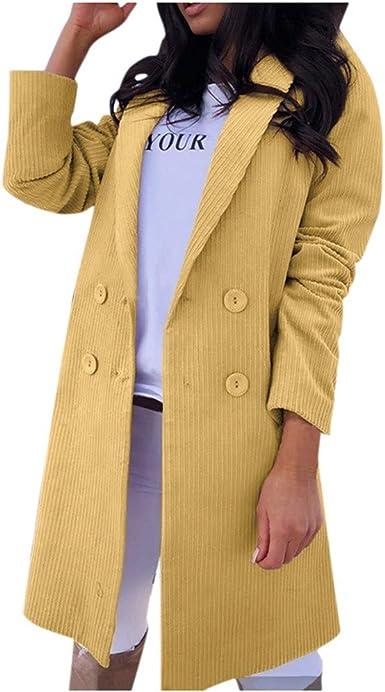Veste Kimono Gilet Blazer Manteau Hiver Femme Bouton de Mode