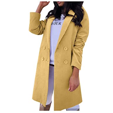 SUDADY Blazer Jacket - Abrigo Impermeable para Mujer, Chaqueta ...