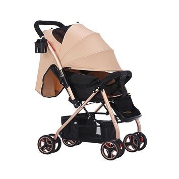 TZ Lightweight Umbrella Stroller with Extra Large Sun Canopy-Khaki  sc 1 st  Amazon.com & Amazon.com : TZ Lightweight Umbrella Stroller with Extra Large Sun ...