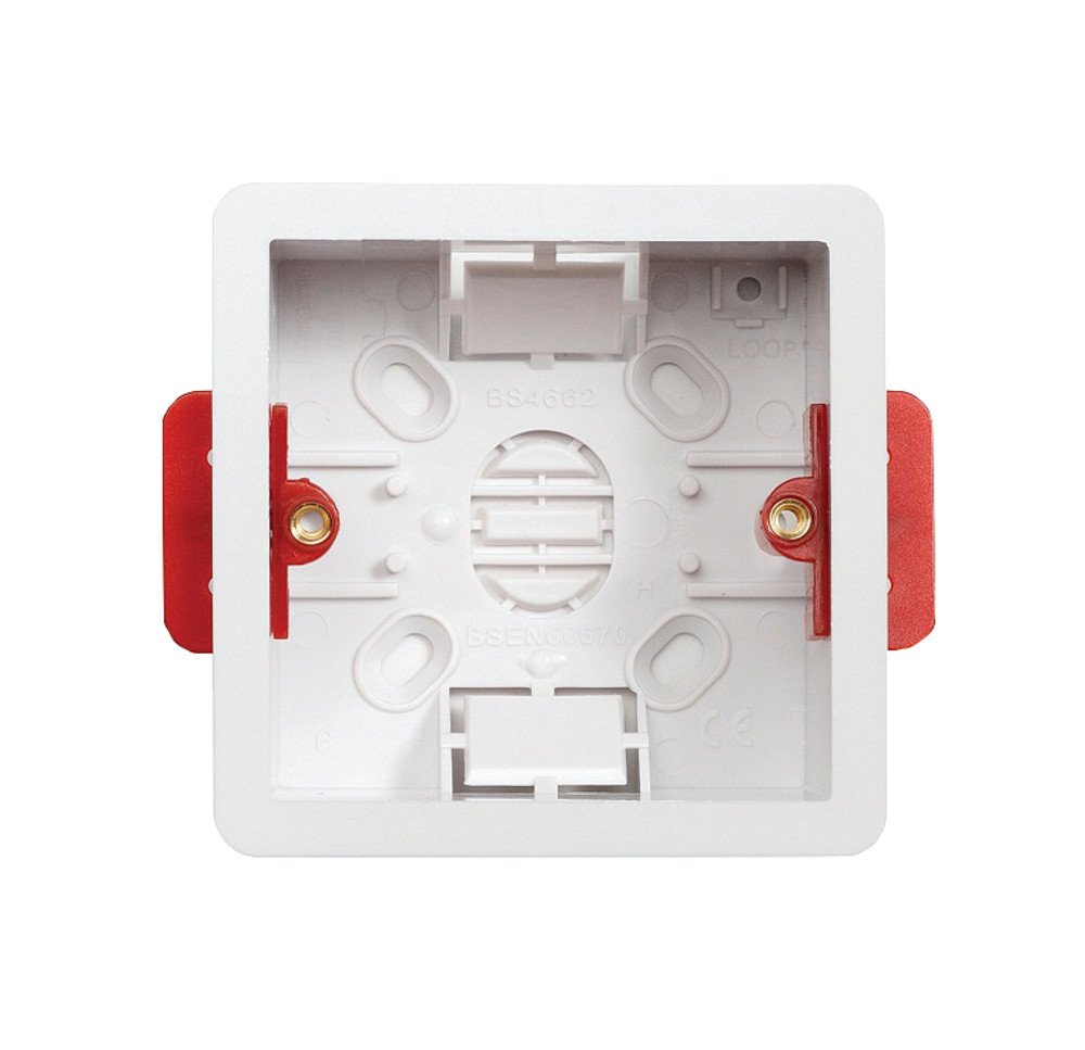 Contactum DLB147 1 Gang 47mm Dry Lining Box (Pack of 10)