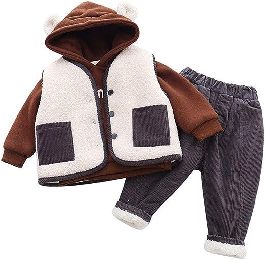 La camiseta del bebé del juego del algodón del invierno, de ...