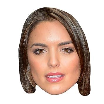 Olympia Valance Máscaras de personajes famosos, caras de carton