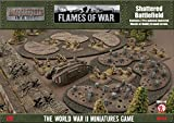 Flames of War Shattered Battlefield 10-15mm Scale - Fully Painted - Figure