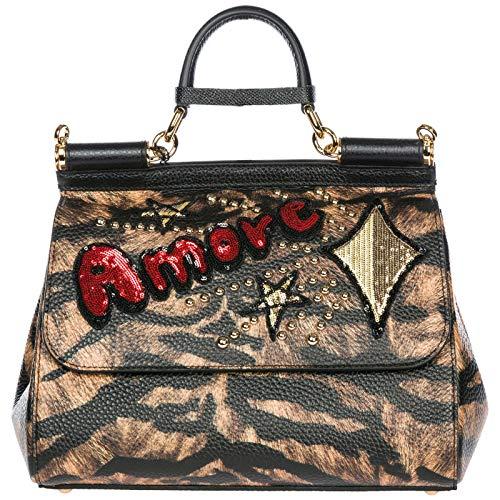 Dolce&Gabbana women Sicily handbags tigre