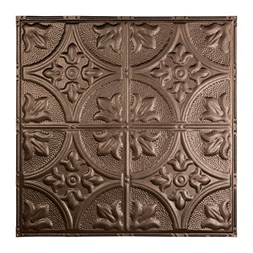 Bronze Wall Tiles - Great Lakes Tin Jamestown Penny Vein Nail-Up Ceiling Tile (12