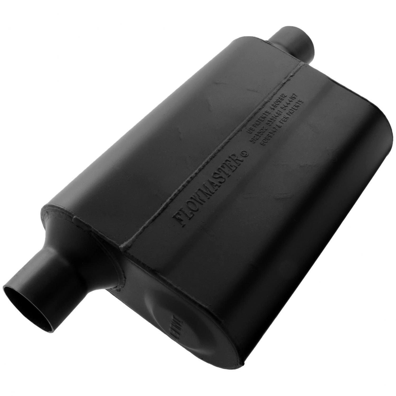 Flowmaster 942449 Super 44 Muffler - 2.25 Offset IN / 2.25 Same Side OUT - Aggressive Sound