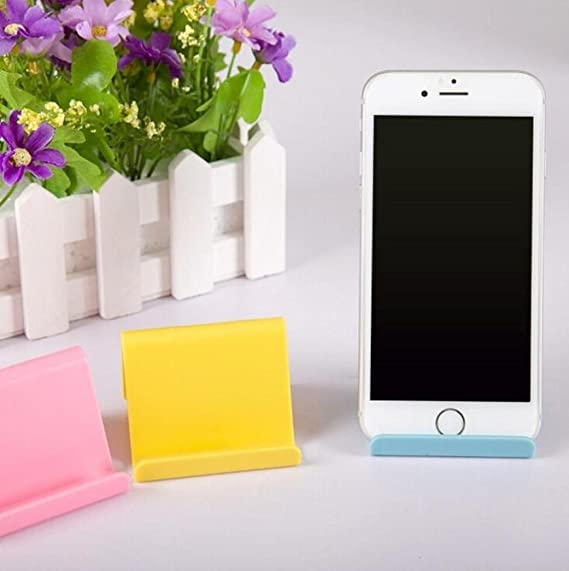 Sostenedor del teléfono móvil ,Titular de teléfono móvil Candy mini portátil fijo titular de suministros para el hogar LMMVP: Amazon.es: Oficina y papelería