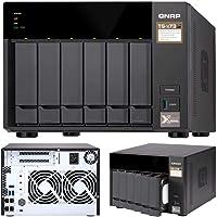 QNAP TS-673-4G 6-Bay NAS AMD RX-421ND Quad-Core ~3.4GHz 4GB DDR4 512MB DOM 2xM.2 2xPCIe 4xUSB3.0 4K 4xGigabit LAN Hot…
