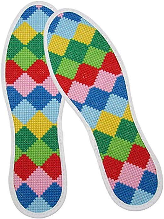WSC Plantillas Bordado, Hilos de algodón Fino, no Hay decoloración, Costura denso Plantillas (Color : B, tamaño : 22.5cm): Amazon.es: Hogar