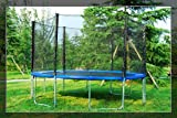 Aosom 13ft Trampoline with Safety Net Enclosure Combo