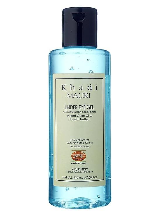 Khadi Mauri Herbals Under Eye Gel 210ml Amazon In Beauty