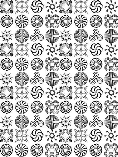 to Choose from Choose Either Ceramic Waterslide Decal or Glass Fusing Decals Enamel Decal Ceramic Decal 6139645 Images Enamel 3 Different Size Sheet Glass Decal Just Symbols