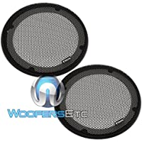 FocalGrills - Focal 6.5 Inch Paired Grills for Focal Compatible Speakers