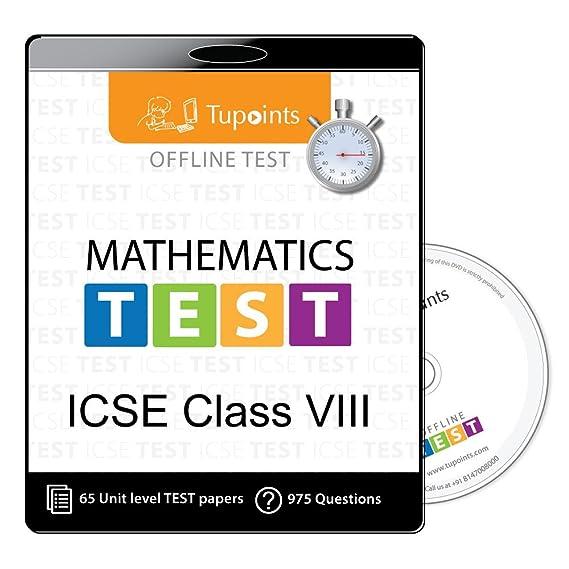 ICSE Class 8 Math Offline practice Test Mock Test (chapter wise