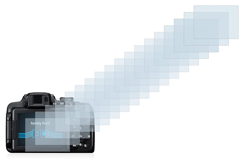 Savvies Protector de Pantalla Compatible con Nikon Coolpix B700 6 Unidades Transparente