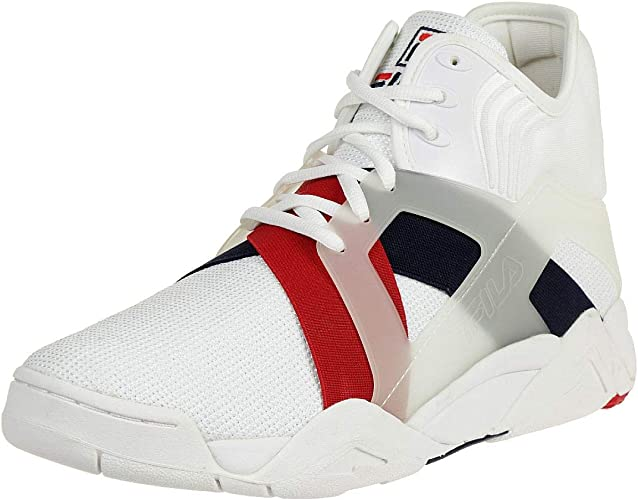 Fila The Cage 17 Logo Men High Sneakers white