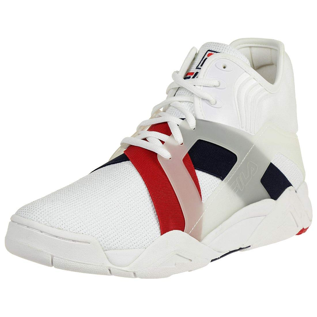 2cb230bff8dc Fila Men s The Cage 17 White Fila Navy Fila Red Athletic Shoe  Buy Online  at Low Prices in India - Amazon.in