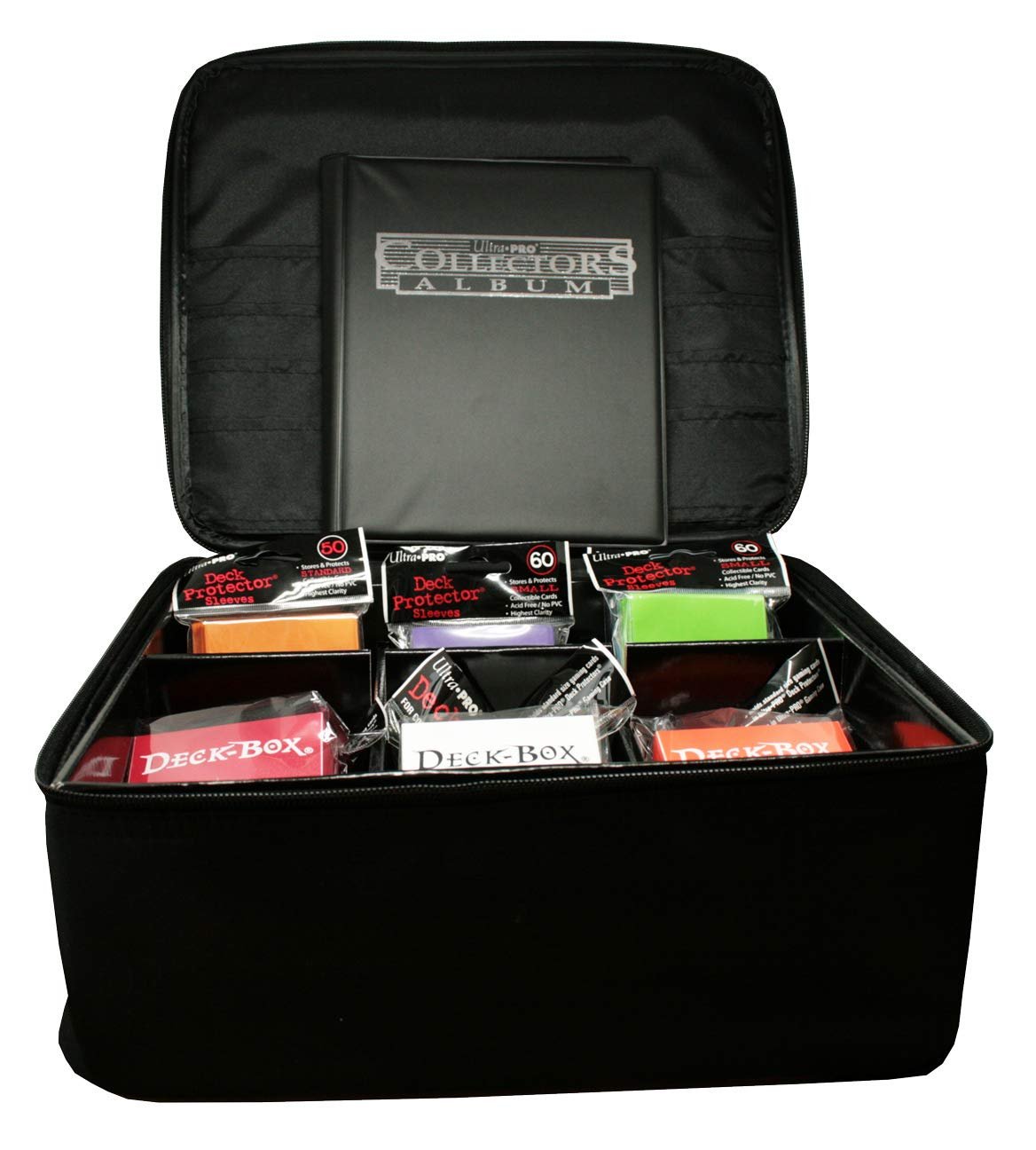Album Hüllen Deck-Boxen Ultra Pro Pokemon SET Tragetasche