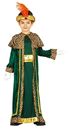 man wise costume green Mens